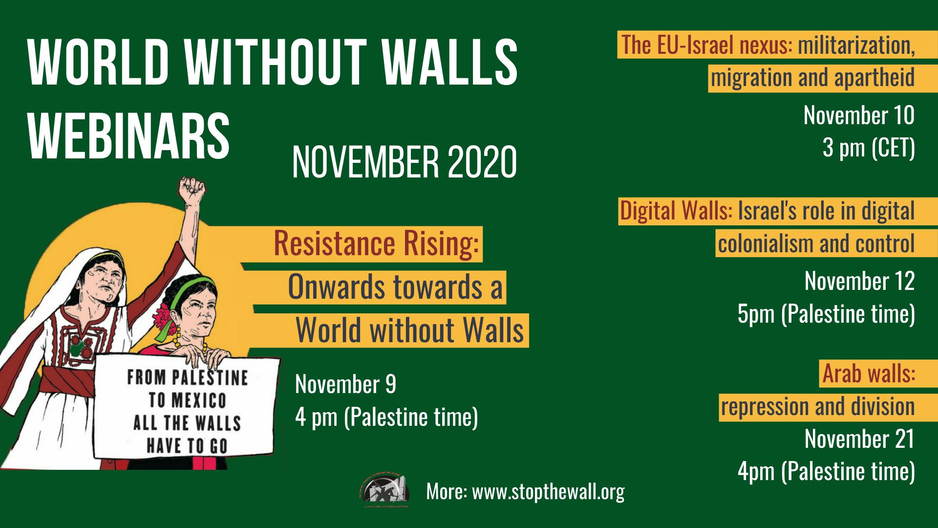 Reserva la fecha: Seminarios web de Mundo sin Muros