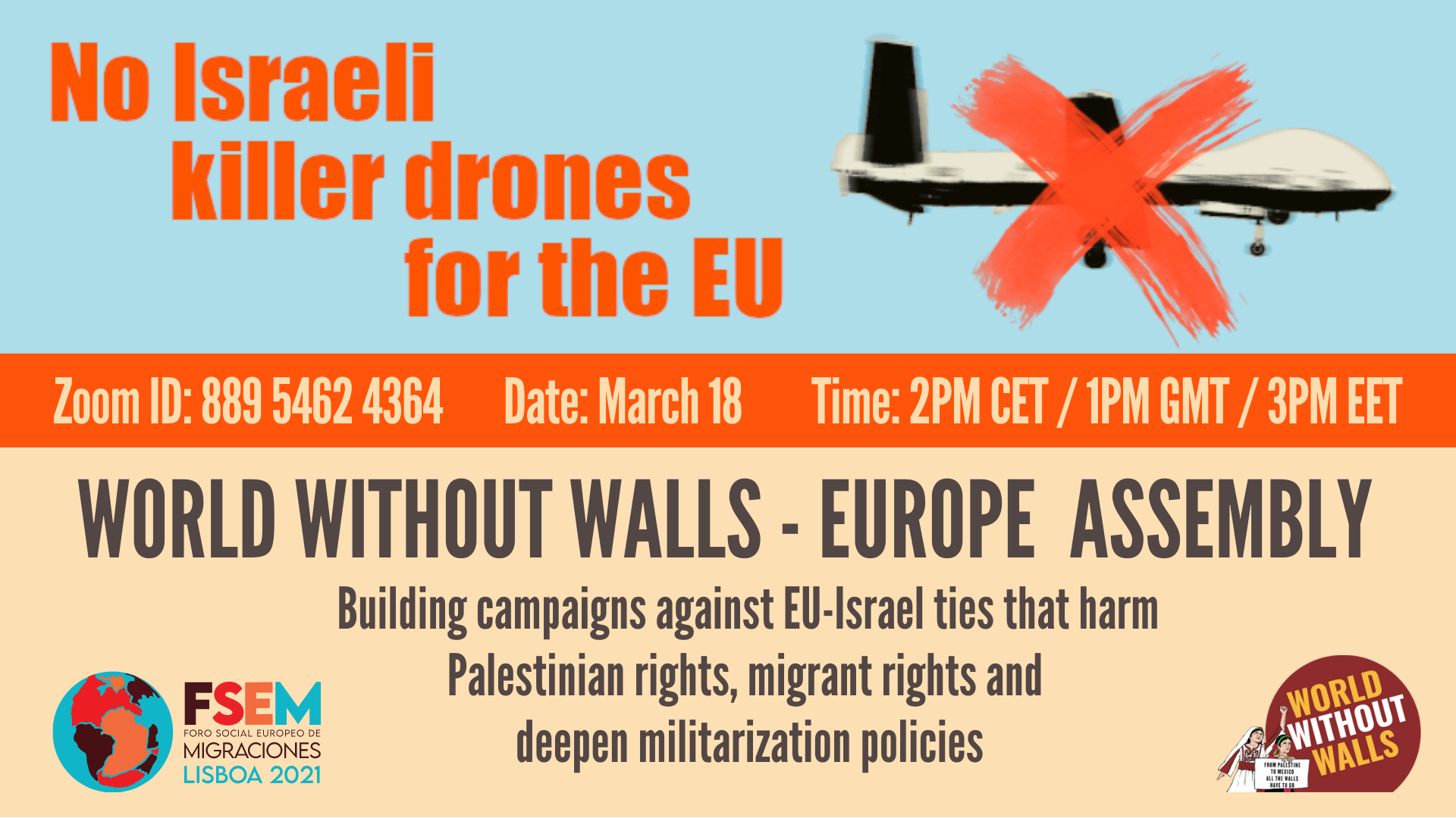 JOIN US AT THE WORLD WITHOUT WALLS – EUROPE ASSEMBLY