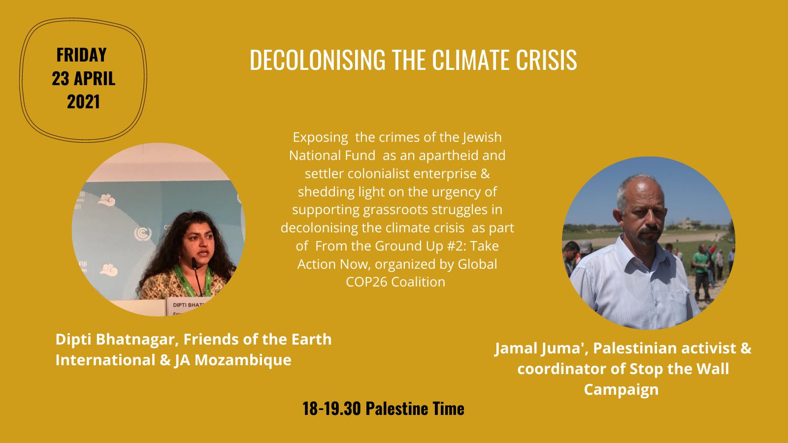 Join us at the 'Decolonizing the Climate Crisis' COP26 event!