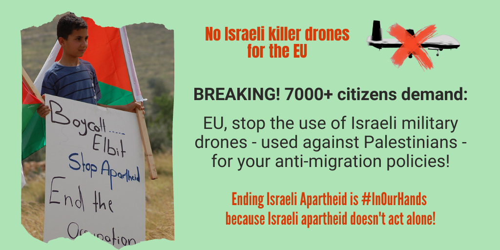 Enough is Enough: Say no to EU policies and cooperation with Israel!