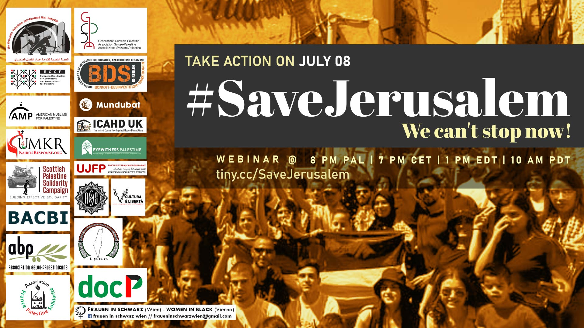 #SaveJerusalem: We Can't Stop Now!